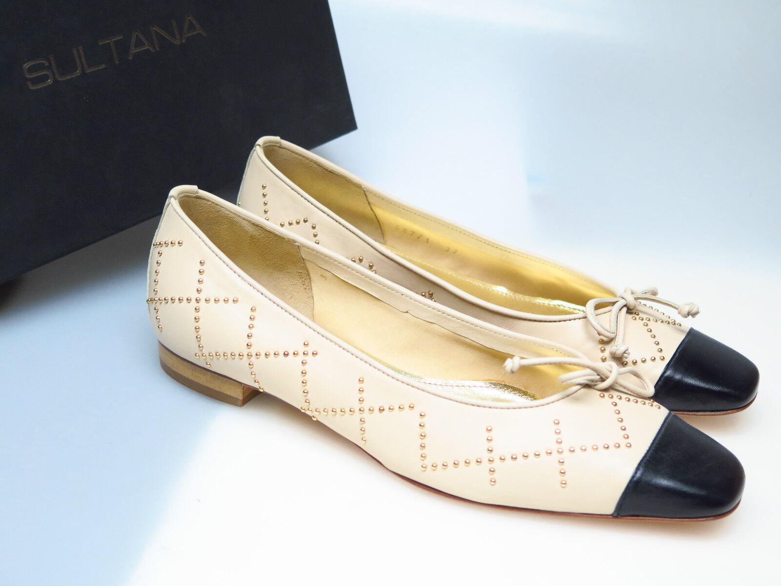 Descuento barato SULTANA Schuhe Designer Damenschuhe N4346 Tati Nappa Beige Simona Gr. 37,5 NEU