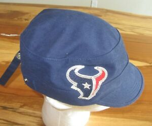 Image is loading NFL-Houston-Texans-Womens-Conductor-Cap-Hat-NFL- 4f3dd430bf