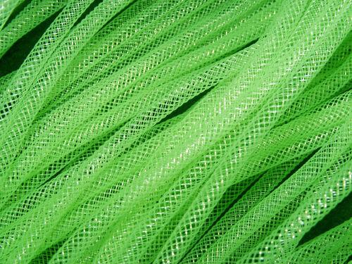 4mm Tubular Crin Crinoline Green Ribbon Cyberlox Fascinator Millinery Hat 5m