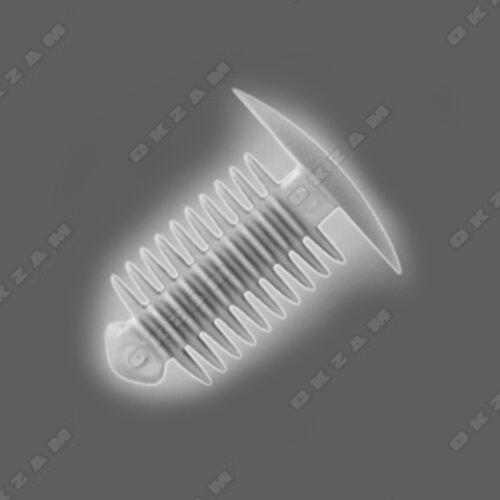 Universal Auto corps trim fastener clips en plastique x10...
