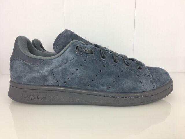 370d7aeba1 Adidas Stan Smith Sneakers Junior Donna Uomo Nero Oro Pelle Nuove Bb0208