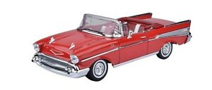 1-18-Chevy-Bel-Air-Convertible-1957-American-Red-Motor-Max-Scale-Diecast-Model