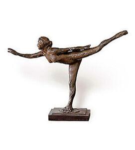 """Bronze Sculpture Statue 13""""Woman Degas Ballet Dancer ..."""