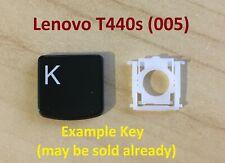 Lenovo YOGA 500 510 Single UK Black Keyboard Key AM1JG000120 Not Backlit