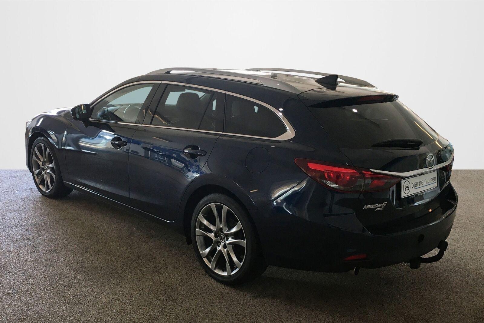 Mazda 6 2,2 Sky-D 175 Optimum stc. aut AWD - billede 2