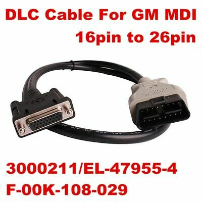 For GM MDI OBDII Adapter MDI DLC Main Cable Connector Diagnostic Interface