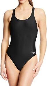 Speedo-Womens-Swimwear-Black-Size-28-ProLT-Super-Pro-Swimsuit-One-Piece-39-332