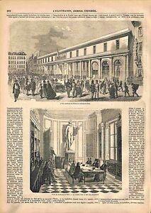 Ecole de Médecine de Paris Salle des Instruments Médicale Médecins GRAVURE 1847 - France - MEDICAL SCHOOL OF PARIS DOCTORS INSTRUMENTS ROOM France ANTIQUE PRINTGRAVURE 100 % DÉPOQUE 1847 PORT GRATUIT EUROPE A PARTIR DE 4 OBJETS BUY 4 ITEMS AND EUROPE SHIPPING IS FREE Il s'agit d'un fragment de page originale avec texte au dos qui n'a  - France