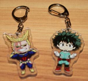 "My Hero Academia Izuku Midoriya Deku Anime Acrylic Keychain 2"" X 2"" US Seller"
