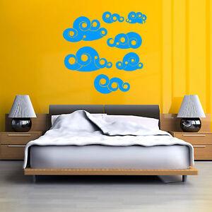 Nubes-DISENO-RETRO-VINTAGE-Vinilo-Adhesivo-mural