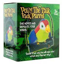 Polly la conversación atrás Loro hablar con su ella copia tus palabras & Solapa su ala