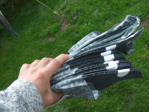 12 X Léger PACKABLE sillosock Vent Motion PIGEON palombe Feeder decoys