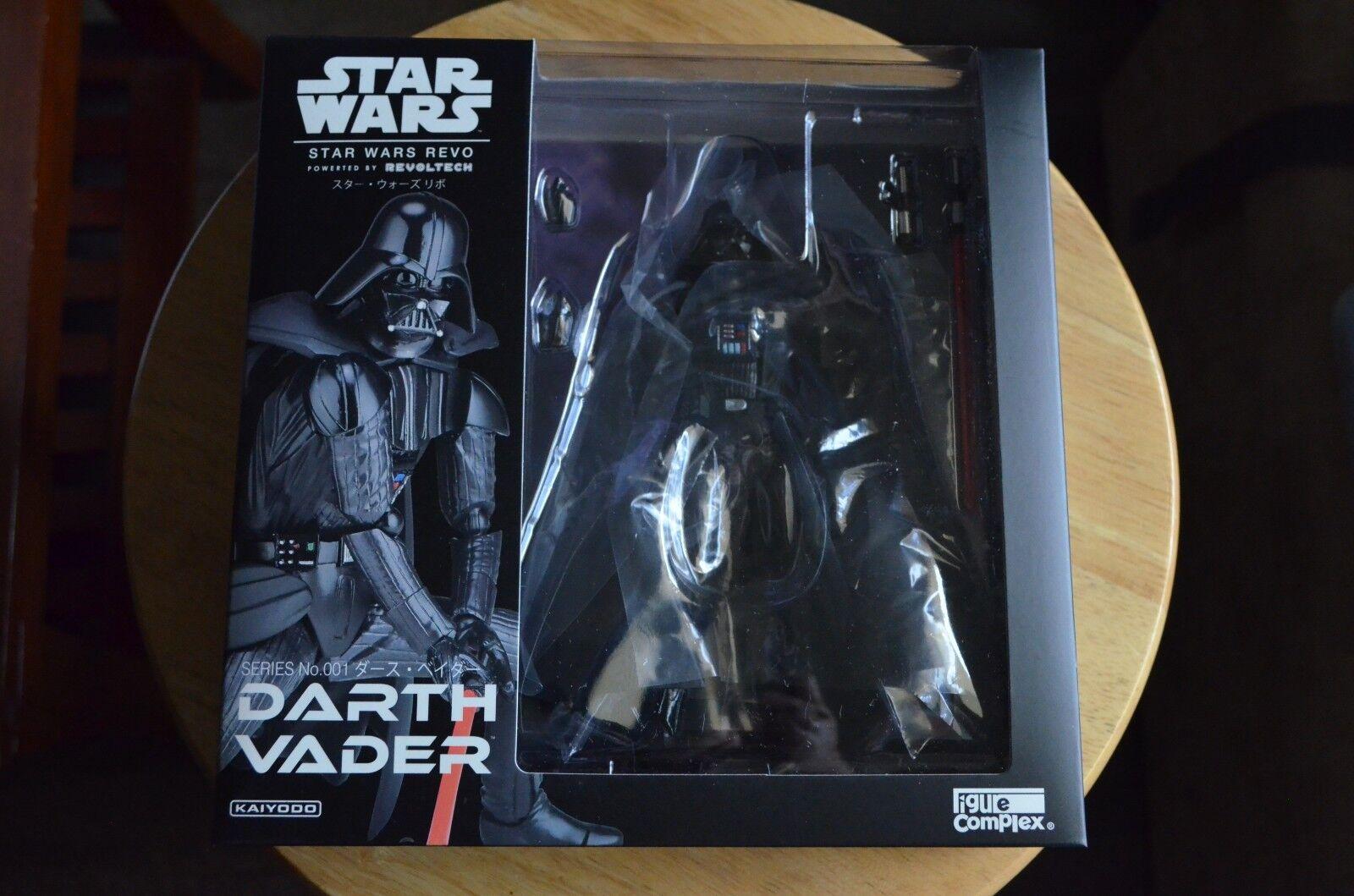 Kaiyodo Revoltech Star Wars  Darth Vader  001 Action Figure ( US Seller )