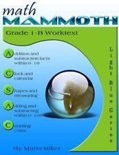 Math Mammoth Grade 1-B Worktext by Maria Miller (2015, Paperback)