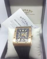 Rotary Men's Editions Oversize Automatic Watch Rotary Logo 802c