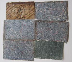 Restaurierungsbedarf Zielsetzung Sammlung Marmorpapier Marbled Paper Papier MarbrÉ 19.jahrhundert Konvolut Dinge Bequem Machen FüR Kunden Sonstige