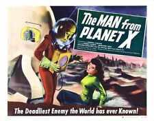 Man From Planet X Poster 03 Metal Sign A4 12x8 Aluminium