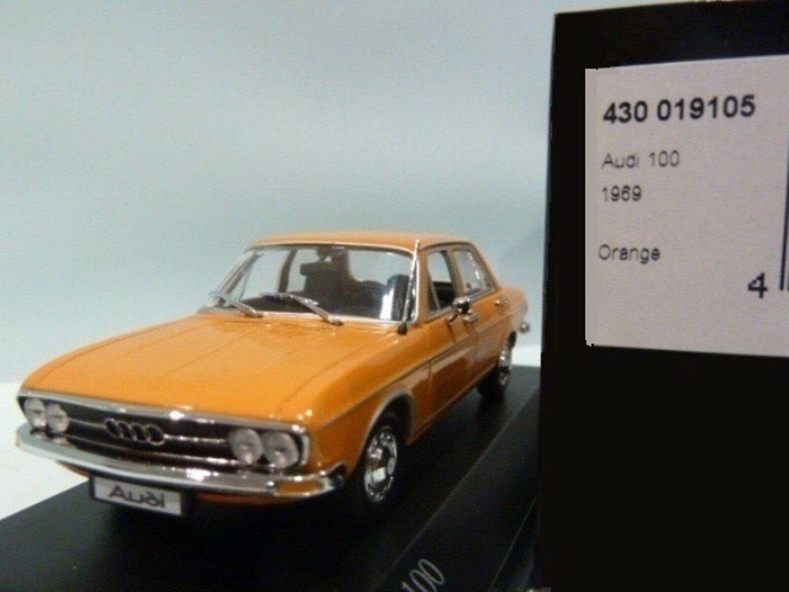 Wow extrêmement rareI 100 C1 1.9 L I4 Saloon 1969 Orange 1 43 Minichamps - 80 200