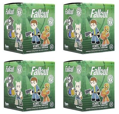 Streng 4 X Fallout Funko Mystery Minis Vinyl Figures Blind Boxes Brand New And Sealed Hochwertige Materialien