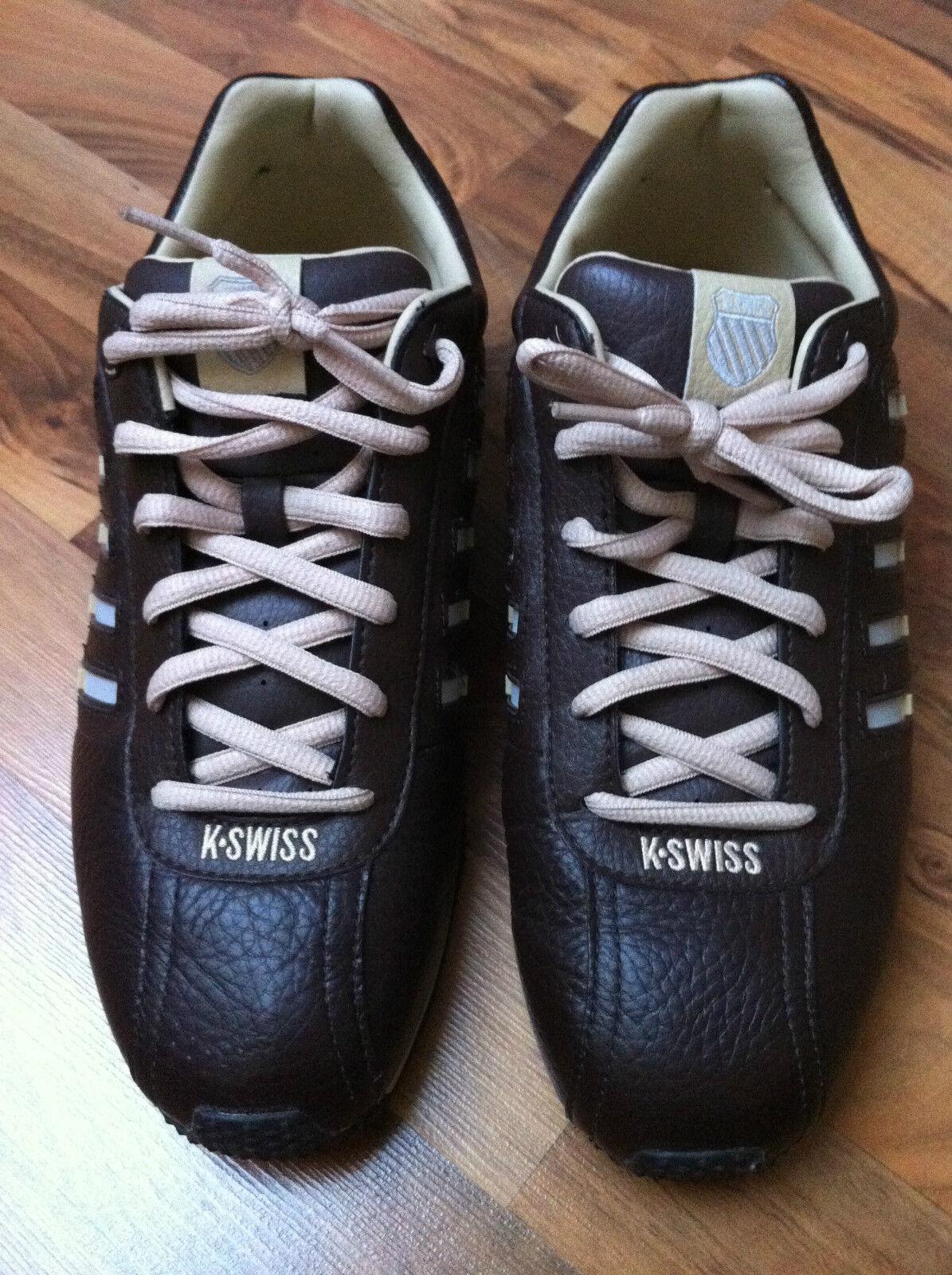 K-SWISS * Sneakers * Stripe Shifter Shoes * Braun * Größe: EU 41,5/US 7,5