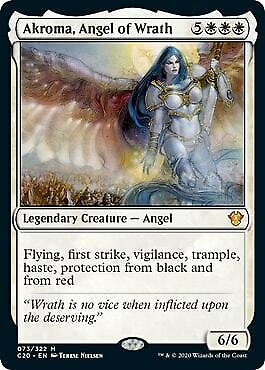 Angel of Serenity Commander Anthology Volume II NM Mythic Rare CARD ABUGames