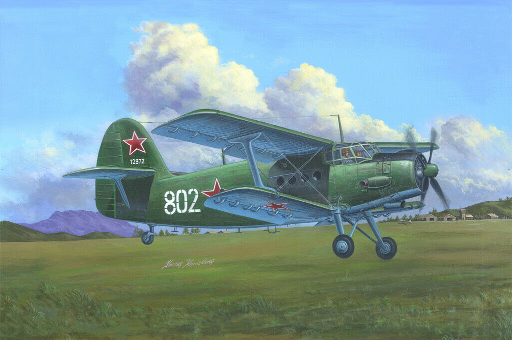 Hobby Boss AN-2 AN-2CX Colt Military Transport 1 48 Aircraft 81705 Model Kit