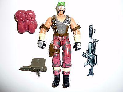 GI JOE DREADNOK RIPPER Action Figure Spy Troops COMPLETE 3 3/4 C9+ v2 2002
