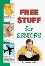 Free Stuff for Seniors by Matthew Lesko 'Mr. Info' hardcover 1999 free shipping