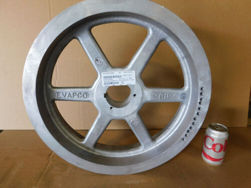 "NEW Evapco Cooling Tower Pulley 5 Groove 18 3//4/"" Diameter 2 7//8/"" Bore Aluminum"