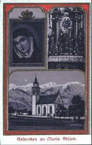 Santa-Maria-Absam-Wallfahrt-Recuerdo-Cuadro-Santos-Fischer-Innsbruck-O-7803