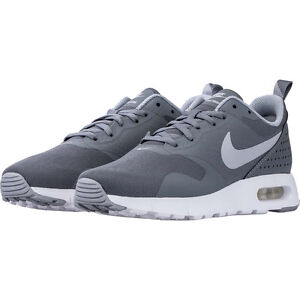 reputable site fdd63 f0cd2 Image is loading Nike-Air-Max-Tavas-GS-Cool-Grey-Wolf-