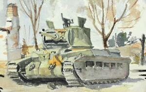 WW-2-Kampf-bei-Orel-Russland-Winter-1942-43-deutsche-Panzer-im-Osten