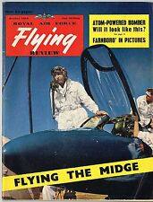 RAF FLYING REVIEW OCT 54 FACSIMILE: ATOM POWERED BOMBER/ He-176/ FARNB'RO REPORT