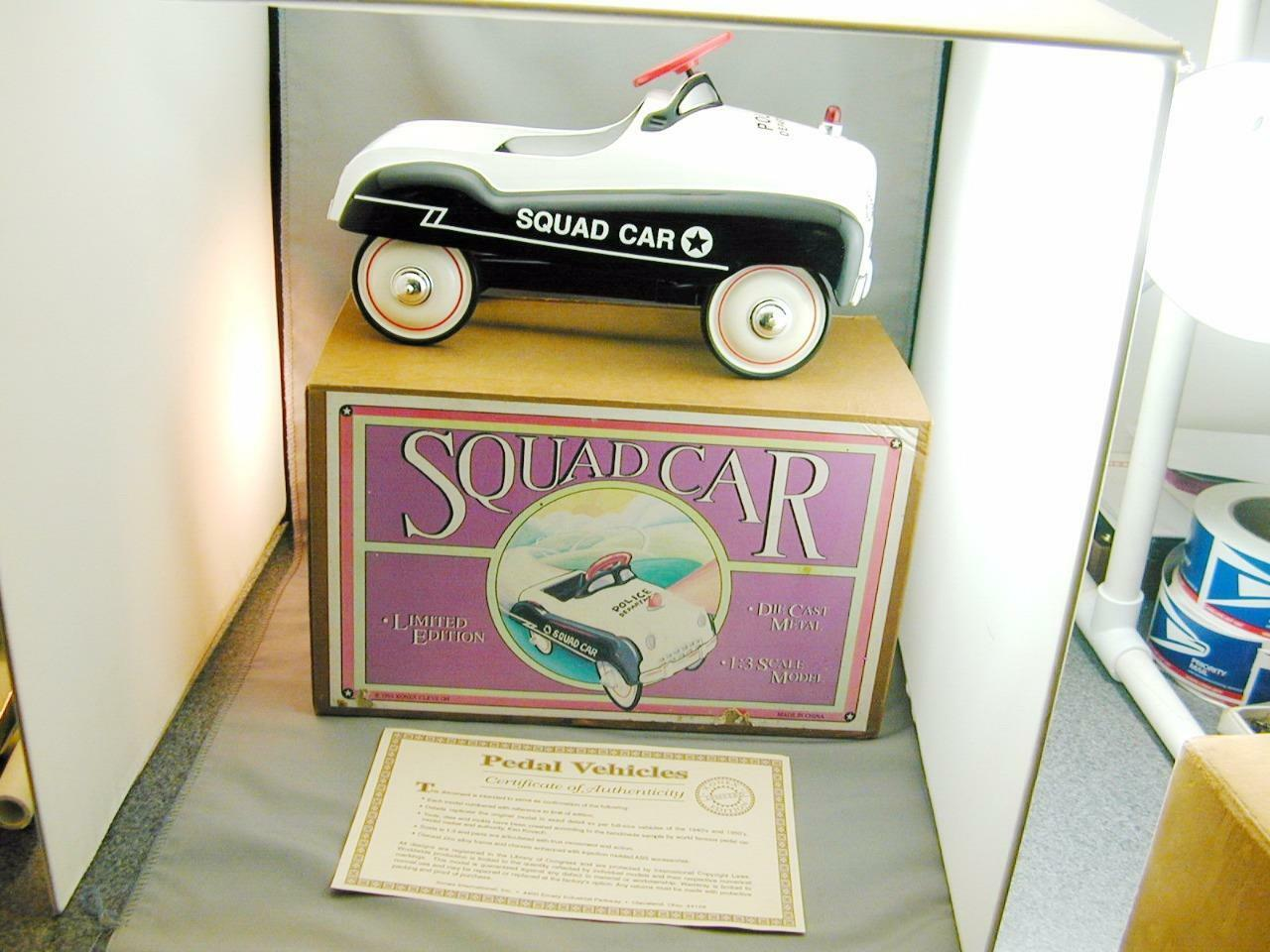 1993 Limited Edition Die Cast Police Squad Pedal Car 1:3 Scale In Box