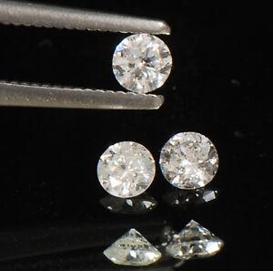 Round-Shape-0-42CT-100-Certified-Natural-White-Diamond-3-PCS-Set