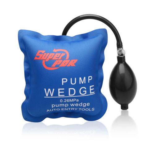 2× Super Air Wedge Pump Inflatable Shim Bag Car Window Door Cushioned Hand Tools