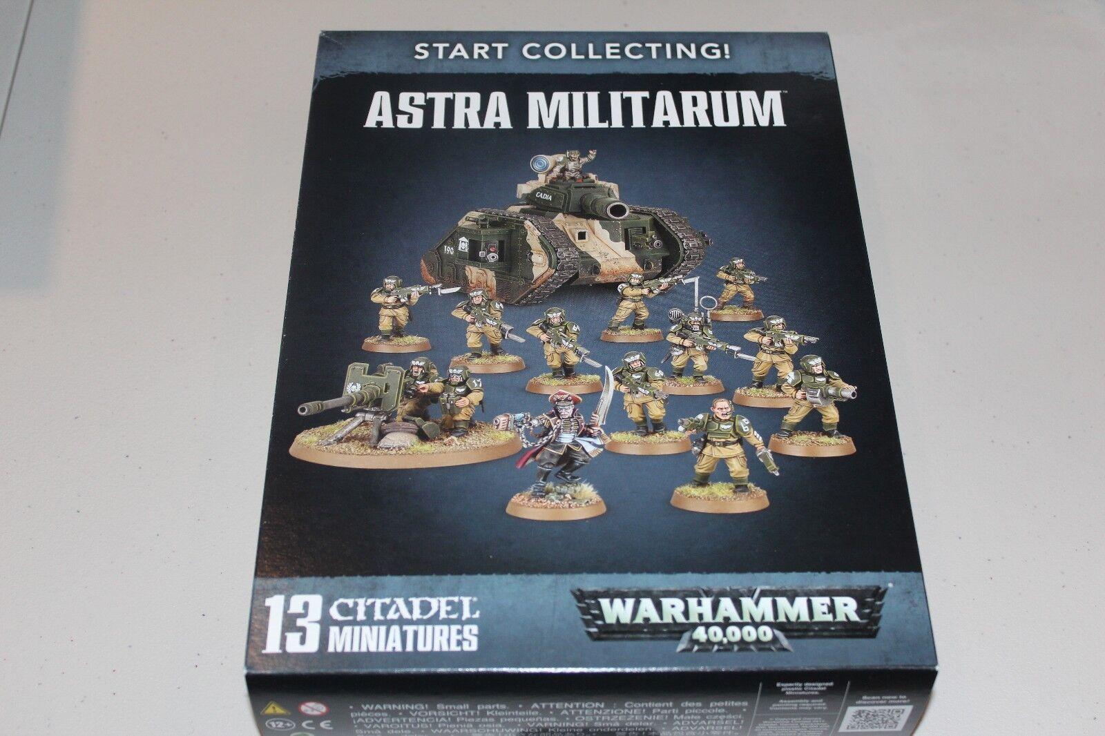 Warhammer imperialen garde astra millitarum sammeln neue