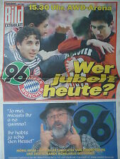 Extrablatt 2002/03 Hannover 96 - Bayern München
