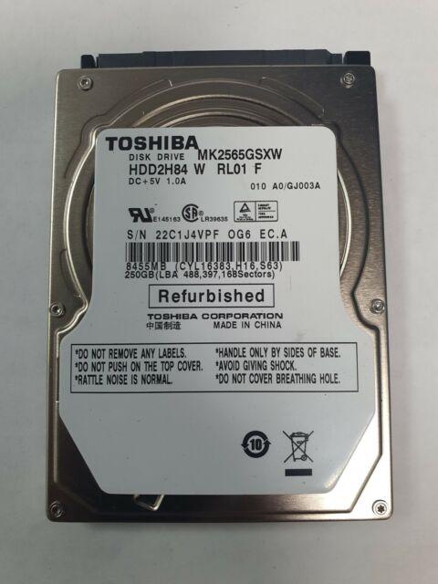 "Toshiba 2.5"" 160GB SATA HDD Free Shipping"