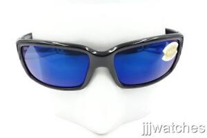 09b6033fb1c4 New Costa Del Mar Caballito Black Blue 580P Polarized Sunglasses CL ...
