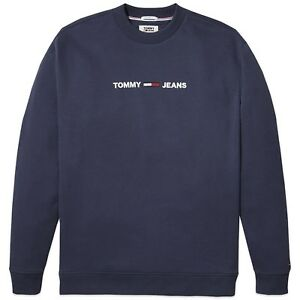 ec1d9bcb Image is loading Tommy-Hilfiger-Sweatshirt-Tommy-Jeans-Small-Chest-Logo-