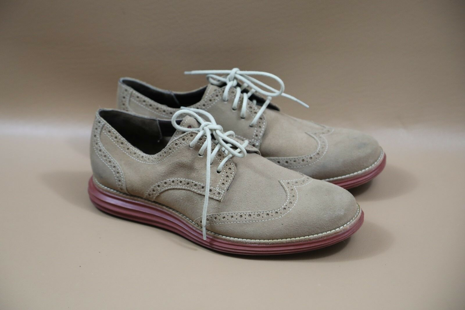 58b52ee28a325a Cole Haan Suede Wing Tip Oxford Shoes Size 9.5 9.5 9.5 3d4b3b ...