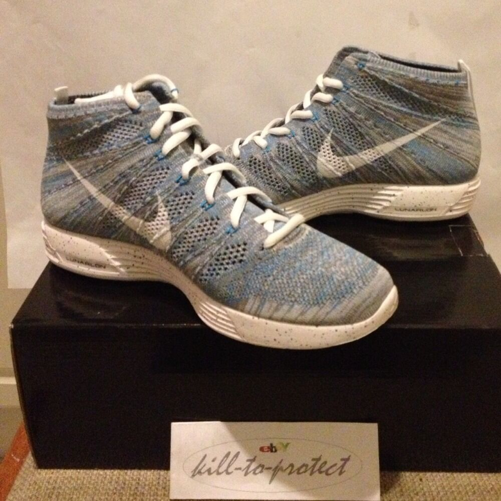 NIKE HTM LUNAR Flyknit CHUKKA US SP Snow Pack US CHUKKA 9.5 UK 8.5 NRG 599347-410 Mixture 6b9b88