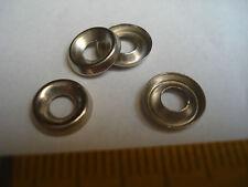 20 cuvettes  laiton chromé pour vis de 3 mm , rondelles à vis de 3 mm