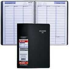 2022 At A Glance Dayminder G520 00 Weekly Appointment Book 8 X 11 Black Cover