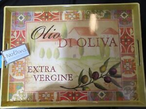 Notions-Serving-Tray-Olio-Di-Oliva-19-x-14-034-Extra-Virgin-Olive-Oil