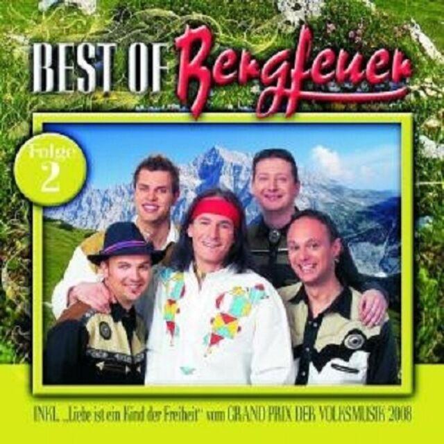 "BERGFEUER ""BEST OF BERGFEUER FOLGE 2"" CD NEU"
