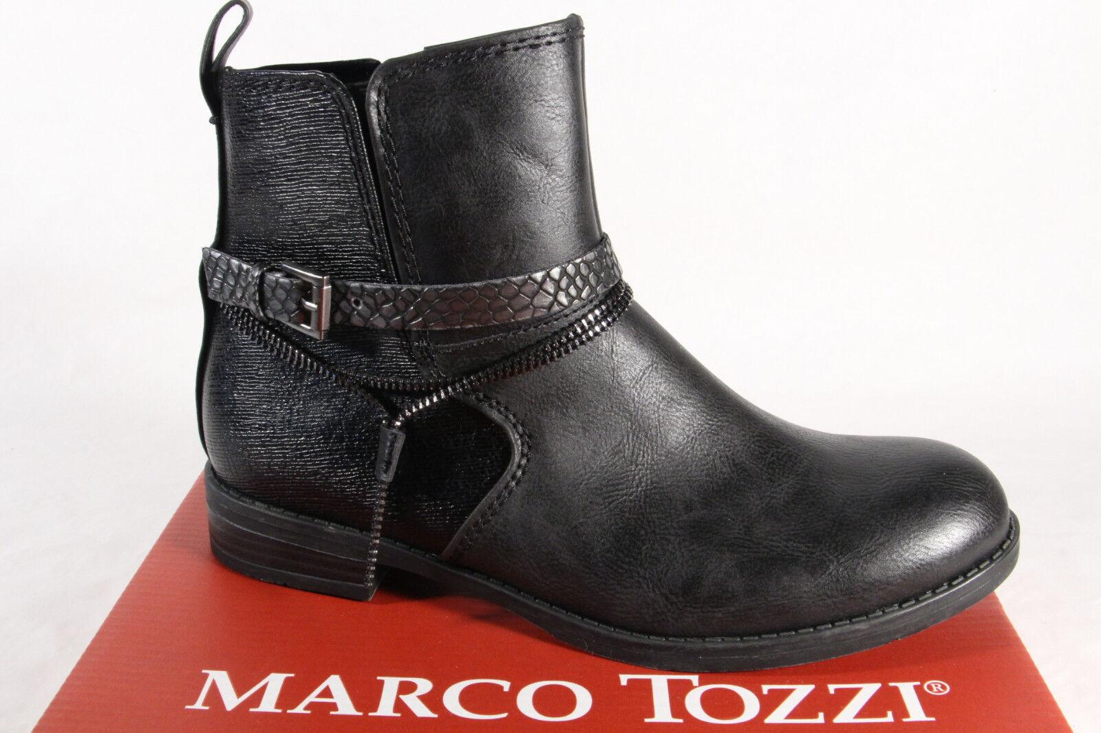 Marco Tozzi Damen Stiefel 25362 Stiefelette Stiefelette Stiefel schwarz NEU