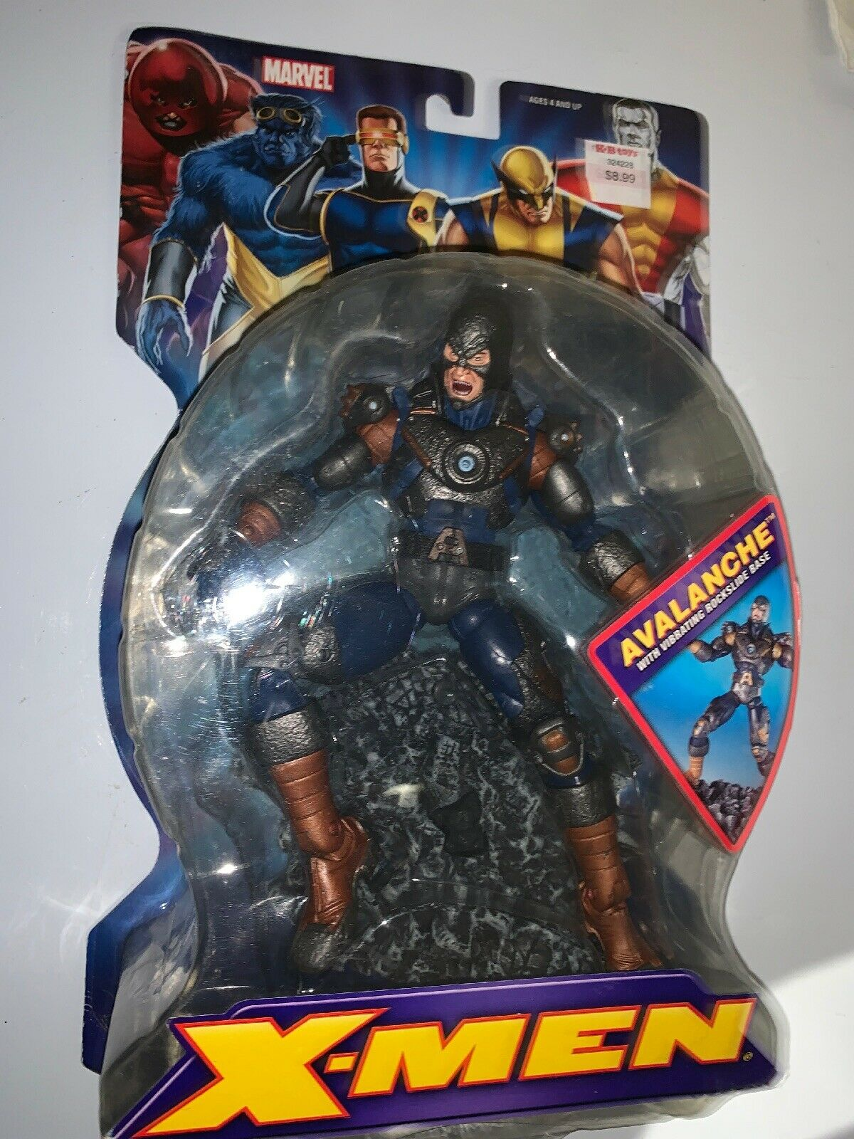 "Rare  X-Men Avalanche Marvel Legends azione cifra 2006 giocattoloBiz 6"" 1 12th Scale  ordinare on-line"