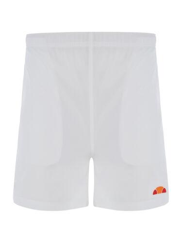 White x1 pair Colour ellesse Men/'s Fabrizo Polyster Tennis Shorts